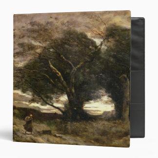 Gust of Wind, 1866 3 Ring Binder