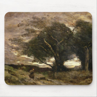 Gust of Wind, 1866 Mouse Pad