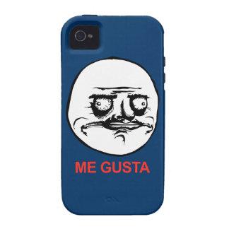 Gusta hace frente a Meme Case-Mate iPhone 4 Funda