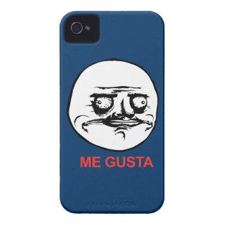 Gusta hace frente a Meme iPhone 4 Case-Mate Cárcasa