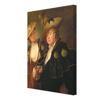 Gustav Adolf Graf von Gotter Canvas Print