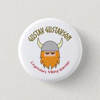 Gustav Gustavson Viking Badge Button