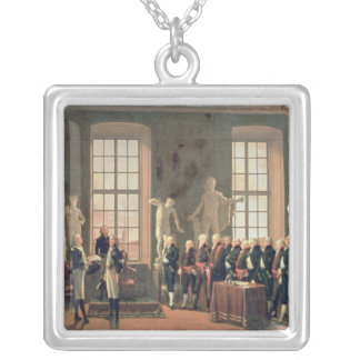 Gustav IV Silver Plated Necklace