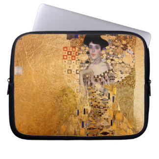 Gustav Klimt, 1907 Portrait of Adel Bloch Bauer Laptop Sleeve