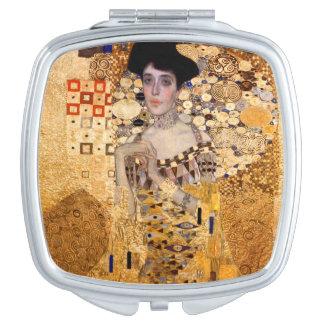 Gustav Klimt, 1907 Portrait of Adel Bloch Bauer. Mirror For Makeup
