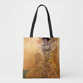 Gustav Klimt, 1907 Portrait of Adel Bloch Bauere Tote Bag