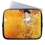 Gustav Klimt Adele Bloch-Bauer Golden Art Nouveau Laptop Sleeve