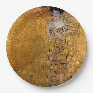 Gustav Klimt - Adele Bloch-Bauer I. Paper Plate