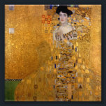 "Gustav Klimt - Adele Bloch-Bauer I. Photo Print<br><div class=""desc"">One of the most famous paintings by Gustav Klimt and his most expensive painting. A portrait of Adele Bloch-Bauer.</div>"