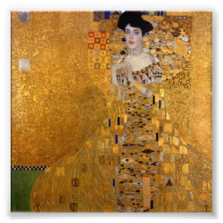 Gustav Klimt - Adele Bloch-Bauer I. Photo Print