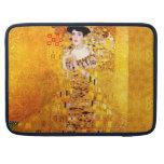 Gustav Klimt Adele Bloch-Bauer I Portrait Painting Sleeve For MacBooks