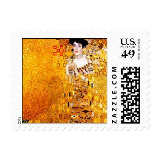 Gustav Klimt Adele Bloch-Bauer I Portrait Painting Stamp