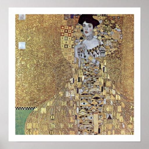 Gustav Klimt ~ Adele Bloch-Bauer I Poster