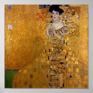 Gustav Klimt - Adele Bloch-Bauer I. Poster
