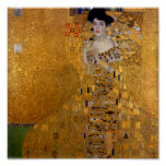 Gustav Klimt - Adele Bloch-Bauer I. Posters