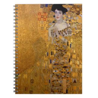 Gustav Klimt - Adele Bloch-Bauer I. Spiral Notebook