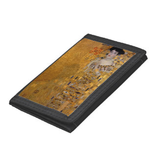 Gustav Klimt - Adele Bloch-Bauer I. Tri-fold Wallets