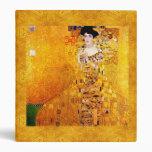 Gustav Klimt Adele Bloch-Bauer Vintage Art Nouveau 3 Ring Binders