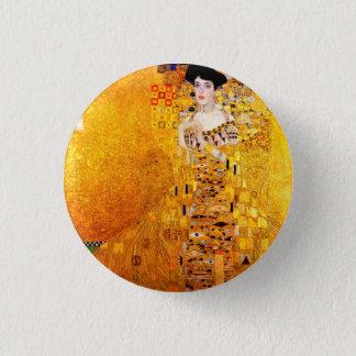 Gustav Klimt Adele Bloch-Bauer Vintage Art Nouveau Button