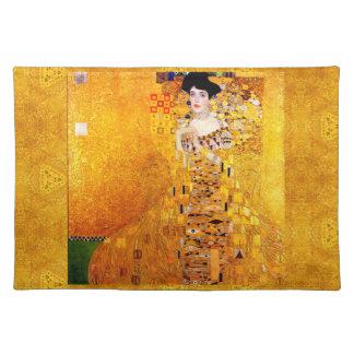 Gustav Klimt Adele Bloch-Bauer Vintage Art Nouveau Cloth Placemat