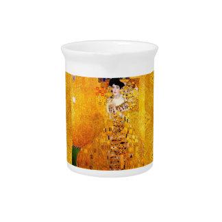 Gustav Klimt Adele Bloch-Bauer Vintage Art Nouveau Drink Pitcher