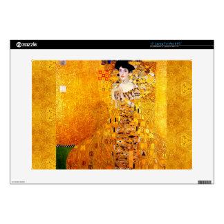 Gustav Klimt Adele Bloch-Bauer Vintage Art Nouveau Laptop Decal