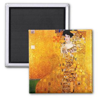 Gustav Klimt Adele Bloch-Bauer Vintage Art Nouveau Magnet