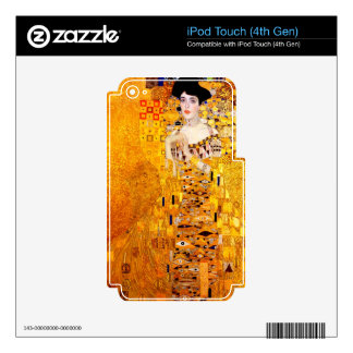 Gustav Klimt Adele Bloch-Bauer Vintage Art Nouveau Decal For iPod Touch 4G