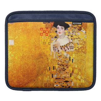 Gustav Klimt Adele Bloch-Bauer Vintage Art Nouveau Sleeve For iPads