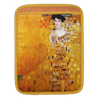 Gustav Klimt Adele Bloch-Bauer Vintage Art Nouveau Sleeves For iPads