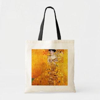 Gustav Klimt Adele Bloch-Bauer Vintage Art Nouveau Tote Bag