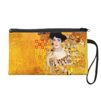 Gustav Klimt Adele Bloch-Bauer Vintage Art Nouveau Wristlet