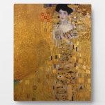 Gustav Klimt // Adele Bloch-Bauer's Portrait. Photo Plaque