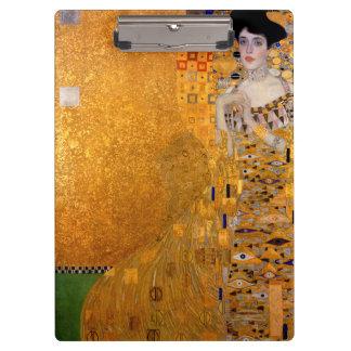 Gustav Klimt Adele Portrait Clipboard