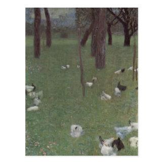 Gustav Klimt- After the Rain Postcards