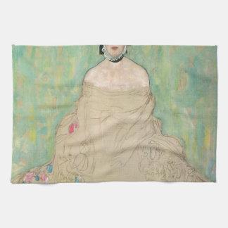 Gustav Klimt- Amalie Zuckerkandl Hand Towel