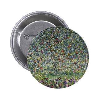Gustav Klimt Apple Tree Button