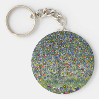 Gustav Klimt Apple Tree Key Chain