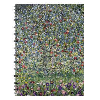 Gustav Klimt Apple Tree Notebook