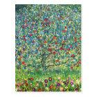 Gustav Klimt: Apple Tree Postcard