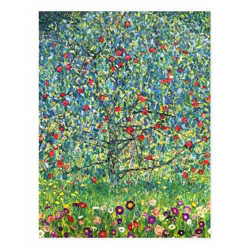 Gustav Klimt: Apple Tree Postcards