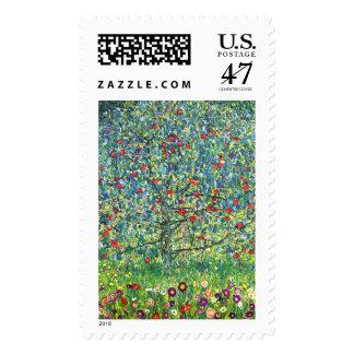 Gustav Klimt: Apple Tree Stamp