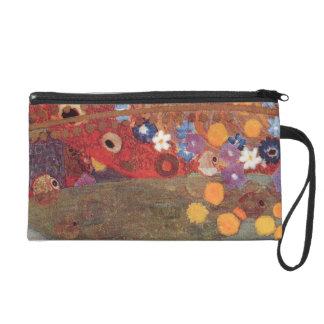 Gustav Klimt Art Nouveau Jugendstil WaterSnakes Wristlet Purses