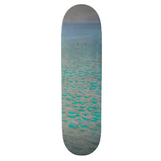 Gustav Klimt Attersee Vintage Art GalleryHD Skateboard Deck