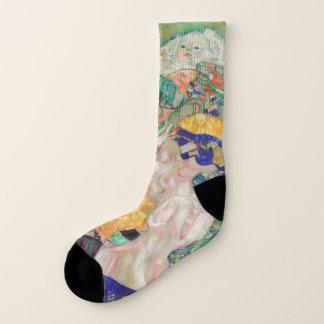 Gustav Klimt Baby Cradle Mens Socks