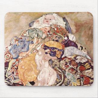 Gustav Klimt ~ Baby Mouse Pad