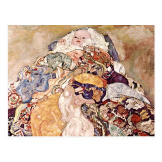 Gustav Klimt ~ Baby Postcard
