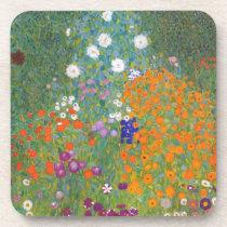 Gustav Klimt // Bauerngarten // Farm Garden Drink Coaster