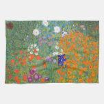 Gustav Klimt // Bauerngarten // Farm Garden Kitchen Towel