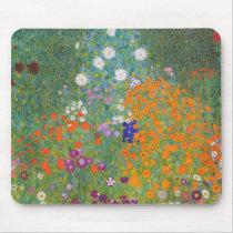 Gustav Klimt // Bauerngarten // Farm Garden Mouse Pad